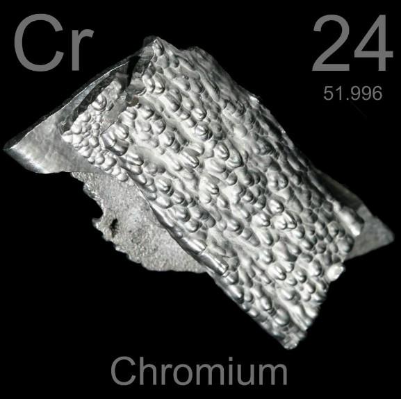 Хром самый твердый металл в мире
